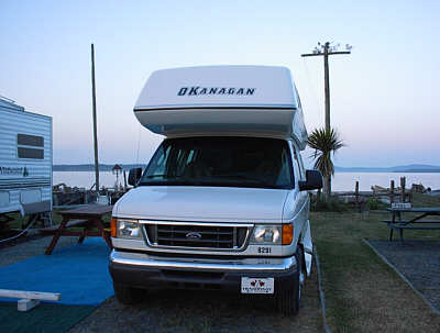 Privat Campground Vancouver Island