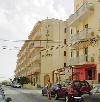 Das Hotel liegt in Oaxaca